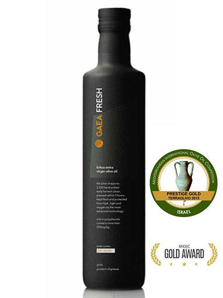 Греческое оливковое масло Gaea FRASH
