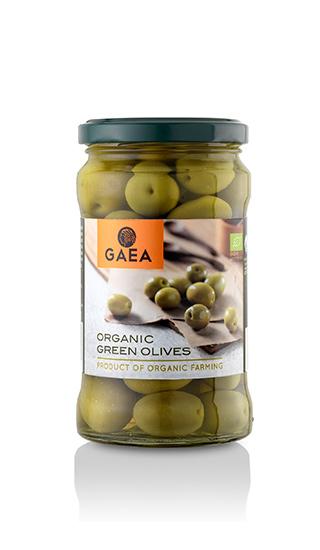 Оливки зеленые органические в стеклянной банке купить в Алматы