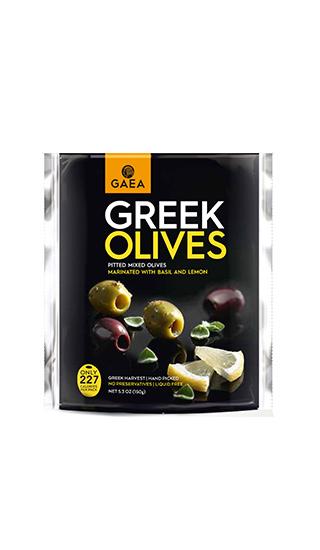 Оливки с базиликом и лимонов в вакуумной упаковке купить в Алматы