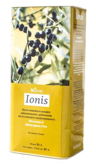 Оливковое масло Pomace Ionia