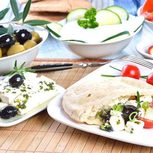 Популярные греческие блюда