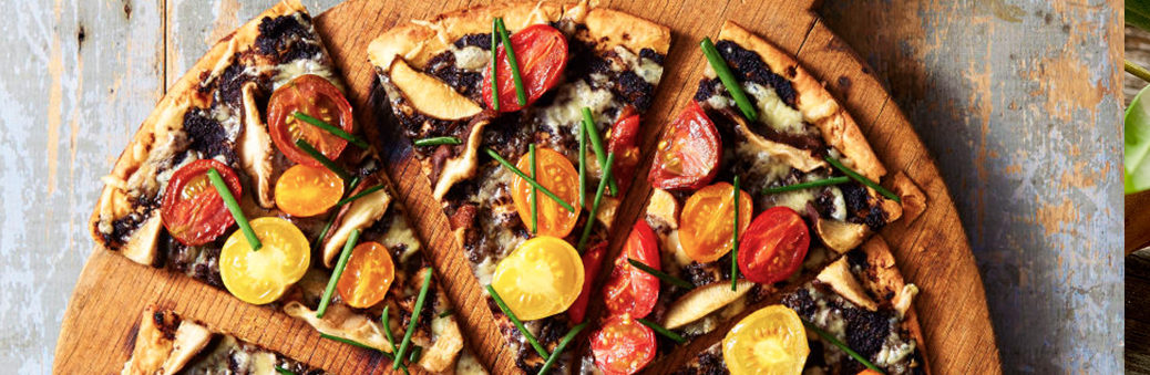 Пицца с тапенаде
