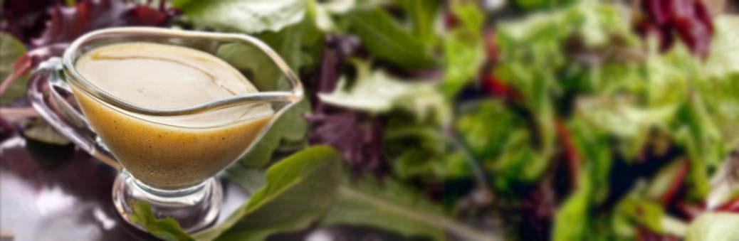 Запрвака для салато с оливковым маслом и горчицей