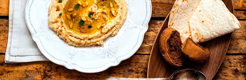 Хумус c кедровыми орешками
