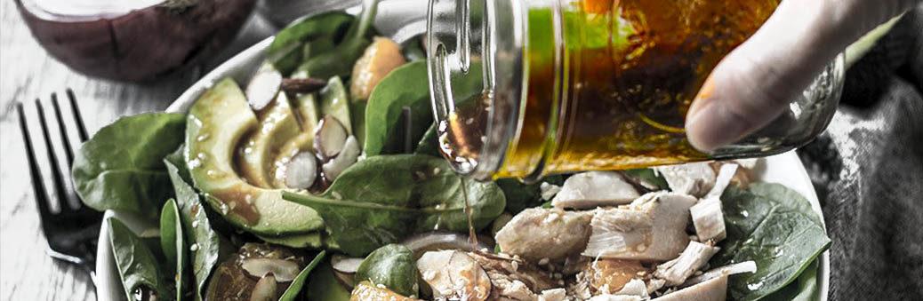Мандариновая заправка для салата