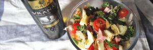 Необычный салат с рукколой