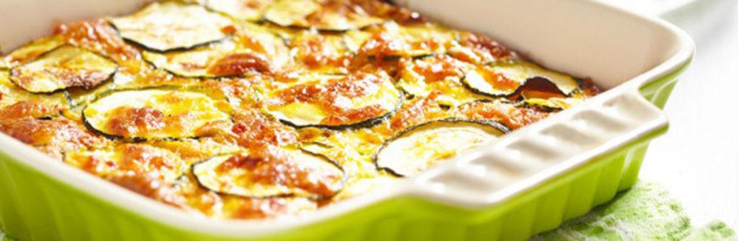 Кабачки, запеченные в духовке с сыром