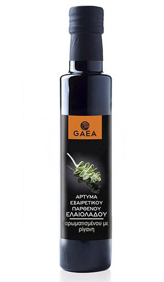 """Оливковое масло """"Gaea"""" с орегано"""