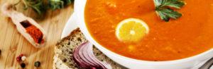 Рецепт диетического крем-супа из красной чечевицы