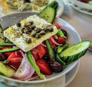 Вкусный и полезный греческий салат