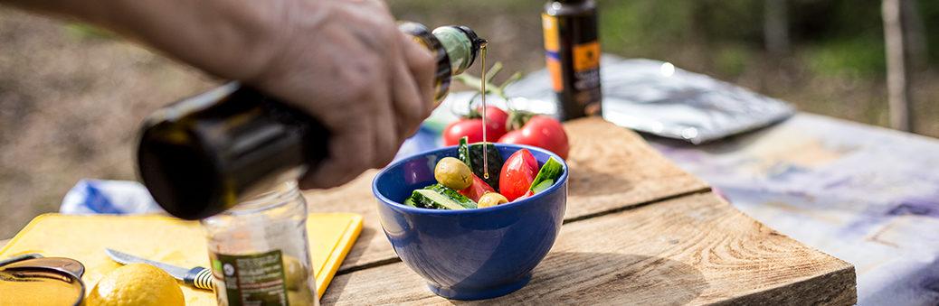 Легкие летние салаты рецепты