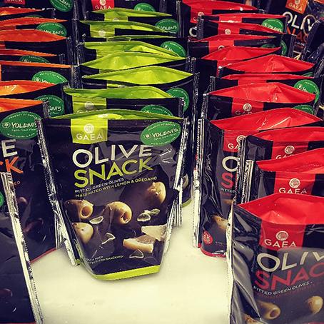 Оливки в вакууме