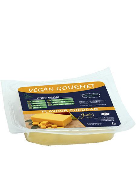 Вегетарианский сыр со вкусом чеддера