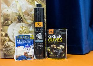 Корпоративный подарок с оливковым маслом