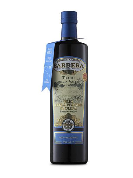 Оливковое масло Barbera TESORO DELLA VALLE