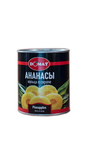 Ананасы в сахарном сиропе